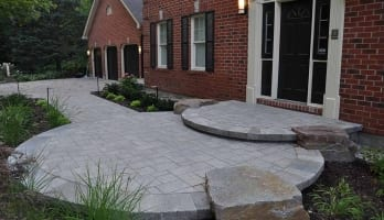 Entranceways, Walks & Driveways