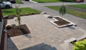 Front Entrance Patio