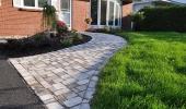 Interlocking Brick Walkway
