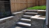 Steps to Rear Yard