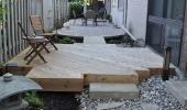 Zen Inspired Patio and Deck
