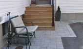 Simple Front Porch Deck